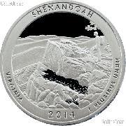 2014-S Virginia Shenandoah National Park Quarter GEM PROOF America the Beautiful