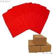 2x2 Paper Coin Envelopes - Red