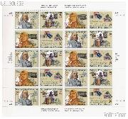 1993 National Postal Museum 29 Cent US Postage Stamp MNH Sheet of 20 Scott #2779 - #2782