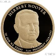 2014-S Herbert Hoover Presidential Dollar GEM PROOF Coin