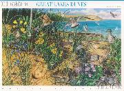 2008 Great Lakes Dunes 42 Cent US Postage Stamp Unused Sheet of 10 Scott #4352