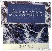 1997 U.S. Mint Uncirculated Set OGP Replacement Envelope and COA