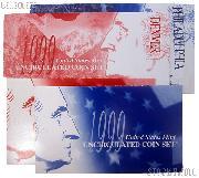 1999 U.S. Mint Uncirculated Set OGP Replacement Envelope and COA