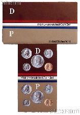 1984 U.S. Mint Uncirculated Set OGP Replacement Envelope and COA
