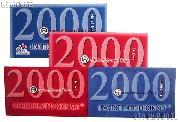 2000 U.S. Mint Uncirculated Set OGP Replacement Envelope and COA