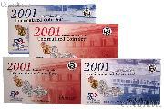 2001 U.S. Mint Uncirculated Set OGP Replacement Envelope and COA