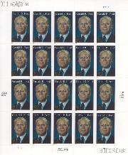 2007 Gerald R. Ford 41 Cent US Postage Stamp Unused Sheet of 20 Scott #4199