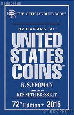 Whitman Blue Book United States Coins 2015 - Hard Cover
