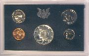 1969 PROOF SET * ORIGINAL * 5 Coin U.S. Mint Proof Set