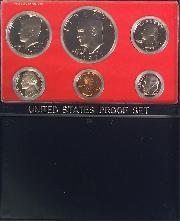 1977 PROOF SET * ORIGINAL * 6 Coin U.S. Mint Proof Set