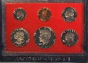 1981 PROOF SET * ORIGINAL * 6 Coin U.S. Mint Proof Set