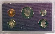1985 PROOF SET * ORIGINAL * 5 Coin U.S. Mint Proof Set