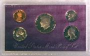 1990 PROOF SET * ORIGINAL * 5 Coin U.S. Mint Proof Set