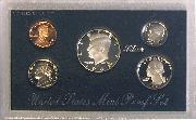 1992 SILVER PROOF SET * ORIGINAL * 5 Coin U.S. Mint Proof Set