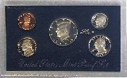 1993 SILVER PROOF SET * ORIGINAL * 5 Coin U.S. Mint Proof Set