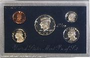 1995 SILVER PROOF SET * ORIGINAL * 5 Coin U.S. Mint Proof Set
