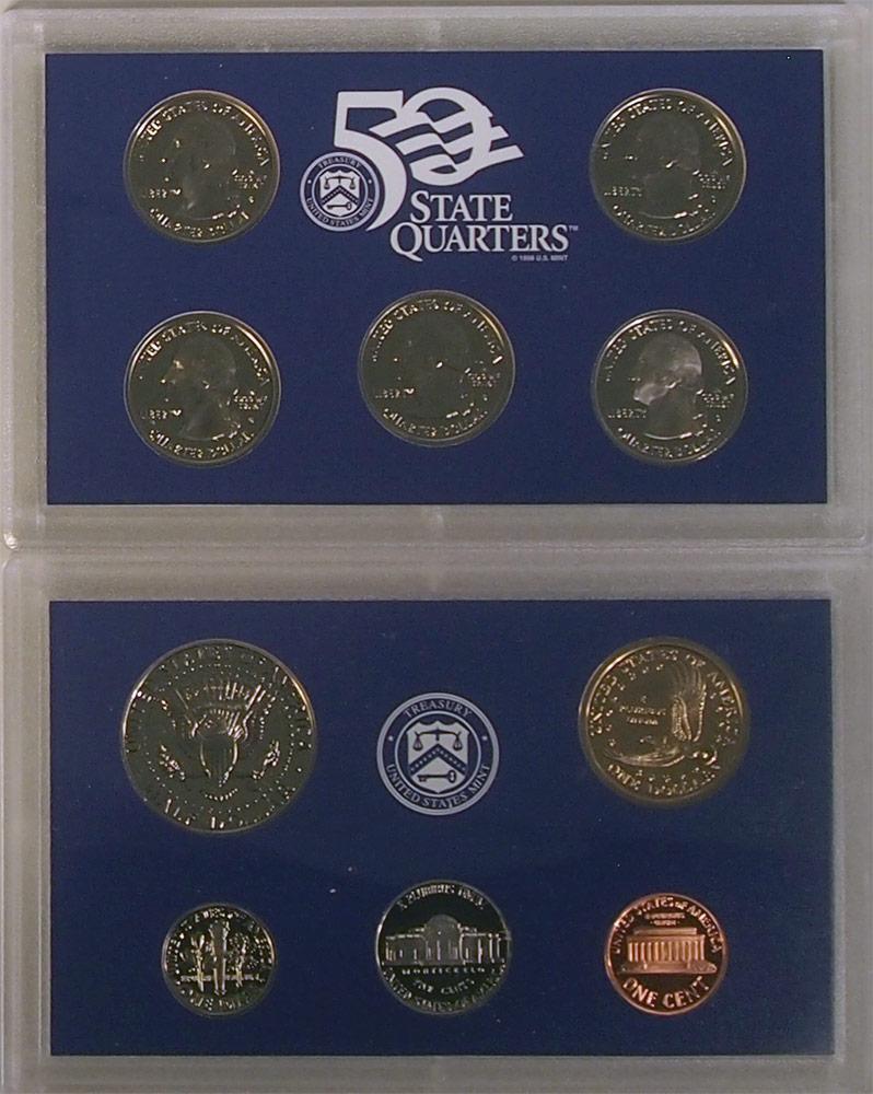 2001 PROOF SET * ORIGINAL * 10 Coin U.S. Mint Proof Set
