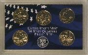 2003 QUARTER PROOF SET * ORIGINAL * 5 Coin U.S. Mint Proof Set