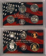 2003 SILVER PROOF SET * ORIGINAL * 10 Coin U.S. Mint Proof Set