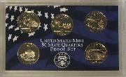 2005 QUARTER PROOF SET * ORIGINAL * 5 Coin U.S. Mint Proof Set