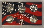 2005 SILVER QUARTER PROOF SET * 5 Coin U.S. Mint Proof Set