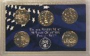2000 QUARTER PROOF SET * ORIGINAL * 5 Coin U.S. Mint Proof Set