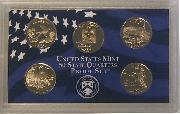 2008 QUARTER PROOF SET * ORIGINAL * 5 Coin U.S. Mint Proof Set