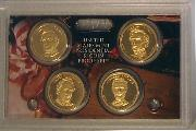 2010 PRESIDENTIAL DOLLAR PROOF SET * 4 Coin U.S. Mint Proof Set