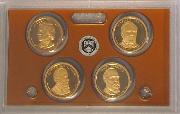 2011 PRESIDENTIAL DOLLAR PROOF SET * 4 Coin U.S. Mint Proof Set