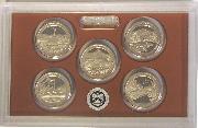 2011 QUARTER PROOF SET * ORIGINAL * 5 Coin U.S. Mint Proof Set