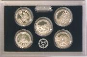 2012 SILVER QUARTER PROOF SET * 5 Coin U.S. Mint Proof Set