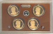 2014 U.S. Mint Presidential Dollar Proof Set - 4 Coins