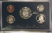 1994 PREMIER SILVER PROOF SET Deluxe Box 5 Coin U.S. Mint Proof Set