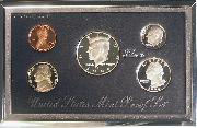 1998 PREMIER SILVER PROOF SET Deluxe Box 5 Coin U.S. Mint Proof Set