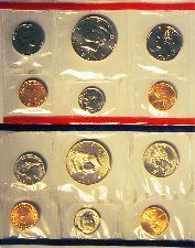 1998 Mint Set - All Original 10 Coin U.S. Mint Uncirculated Set