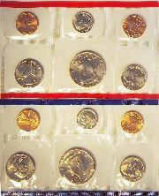 1993 Mint Set - All Original 10 Coin U.S. Mint Uncirculated Set