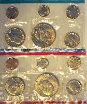 1977 Mint Set - All Original 12 Coin U.S. Mint Uncirculated Set