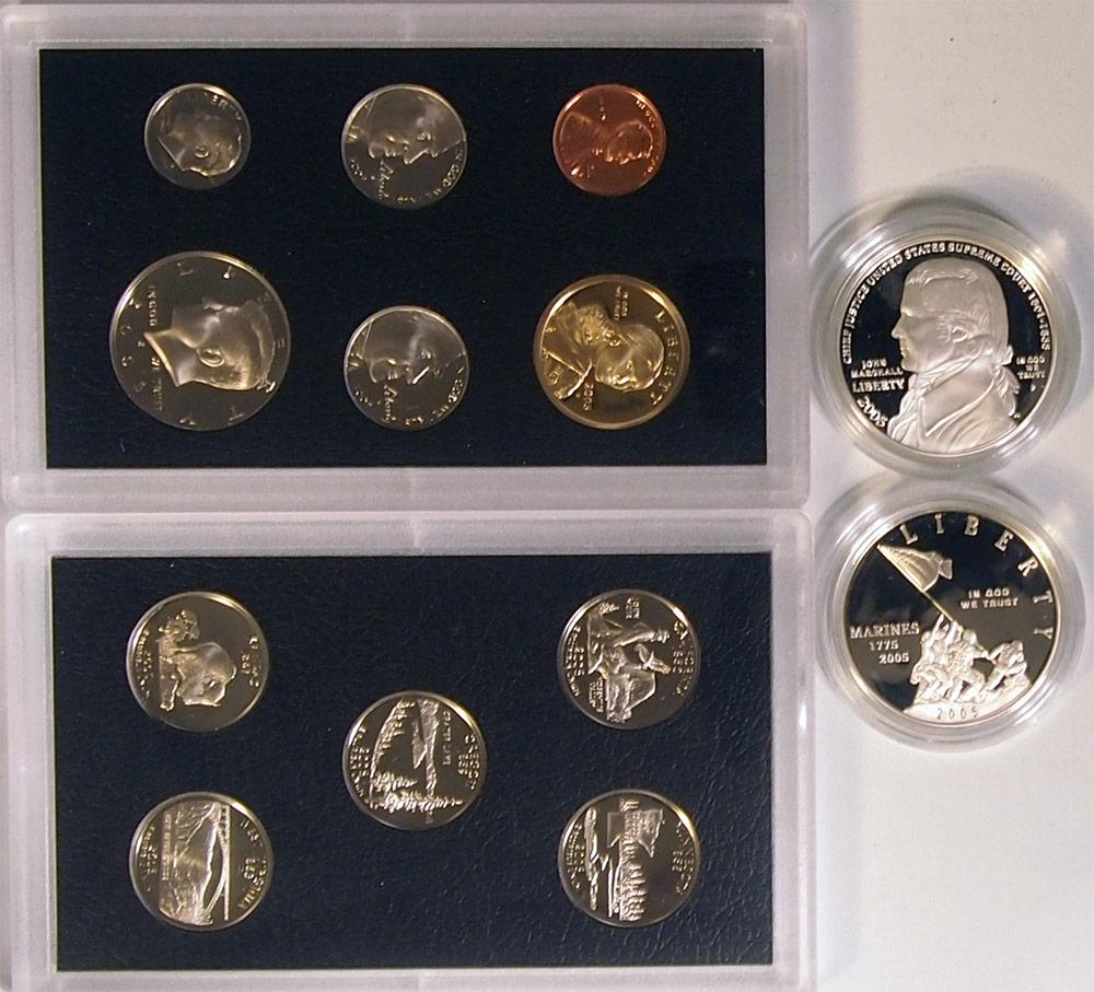 2005 American Legacy Collection Proof Sets - 13 Coin U.S. Mint Proof Set