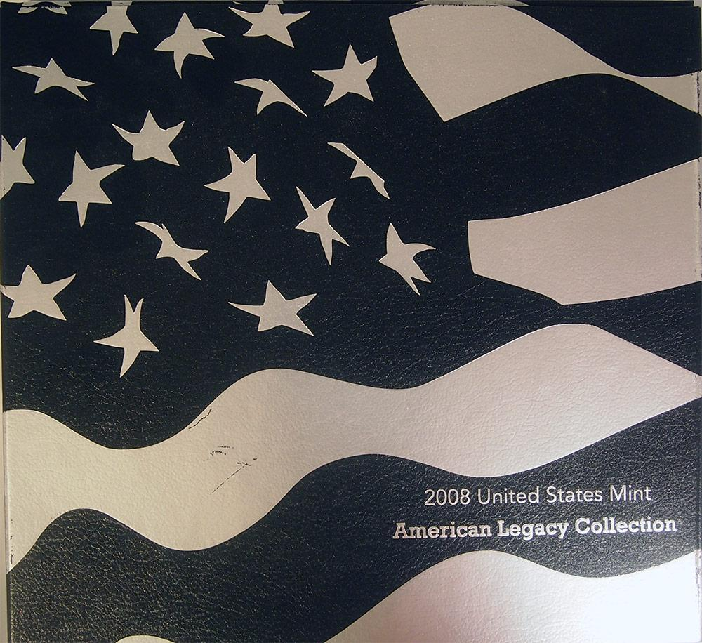 2008 American Legacy Collection Proof Sets - 15 Coin U.S. Mint Proof Set