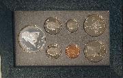 1995 PRESTIGE PROOF SET Deluxe Box & Papers 7 Coin U.S. Mint Proof Set