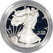 2011 Silver Eagle PROOF In Box with COA 2011-W American Silver Eagle Dollar Proof