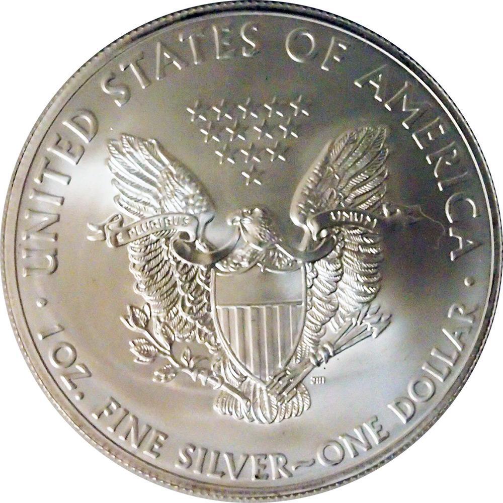 1992 American Silver Eagle Dollar Bu 1oz Silver