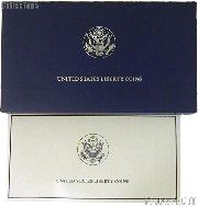 1986 Statue of Liberty Centennial Commemorative Uncirculated Two Coin Set OGP Replacement Box and COA