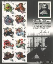2005 Jim Henson and the Muppets 37 Cent US Postage Stamp Unused Sheet of 11 Scott #3944