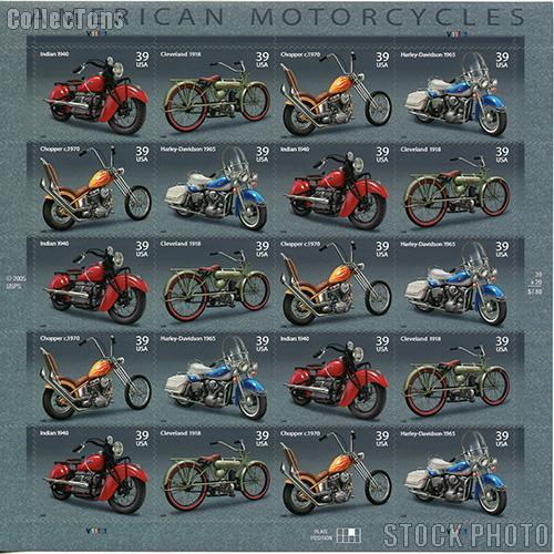 2006 American Motorcycles 39 Cent Us Postage Stamp Unused