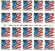 2001 United We Stand 34 Cent US Postage Stamp Unused Booklet of 20 Scott #3549A