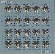 2002 U.S. Military Academy Bicentennial 34 Cent US Postage Stamp Unused Sheet of 20 Scott #3560