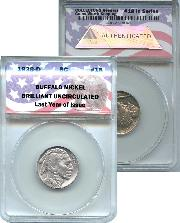 CollecTons Keepers #18: 1938-D Buffalo Nickel Certified in Exclusive ANACS Brilliant Uncirculated Holder
