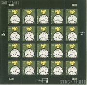 2003-2008 American Design Series - American Clock 10 Cent US Postage Stamp Unused Sheet of 20 Scott #3757