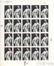 2003 Roy Acuff 37 Cent US Postage Stamp Unused Sheet of 20 Scott #3812